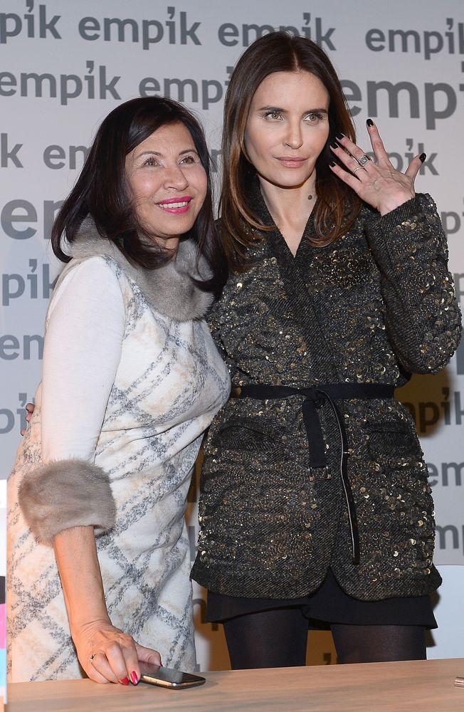 Joanna Horodyńska z mamą