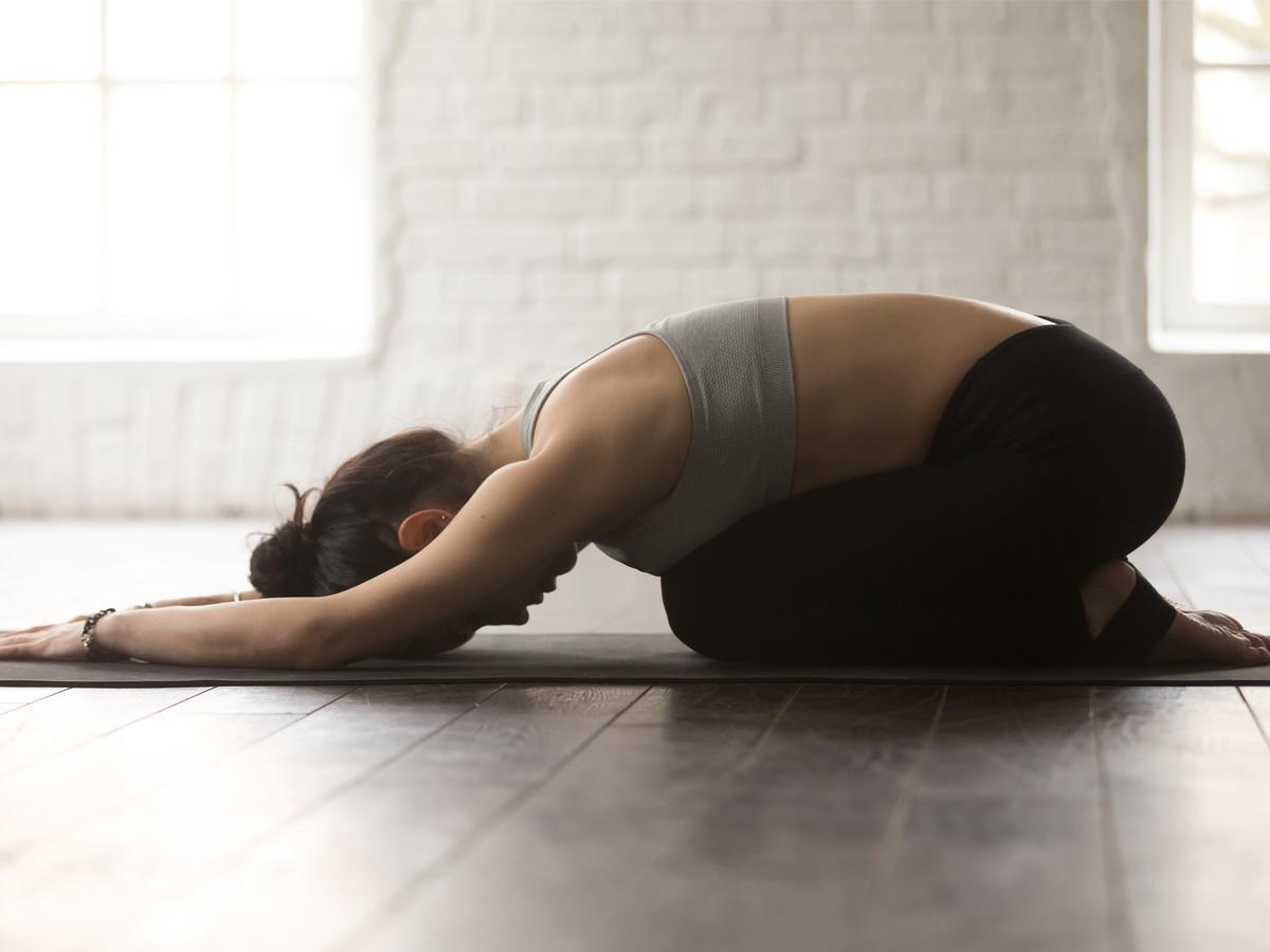 pozycja dziecka joga