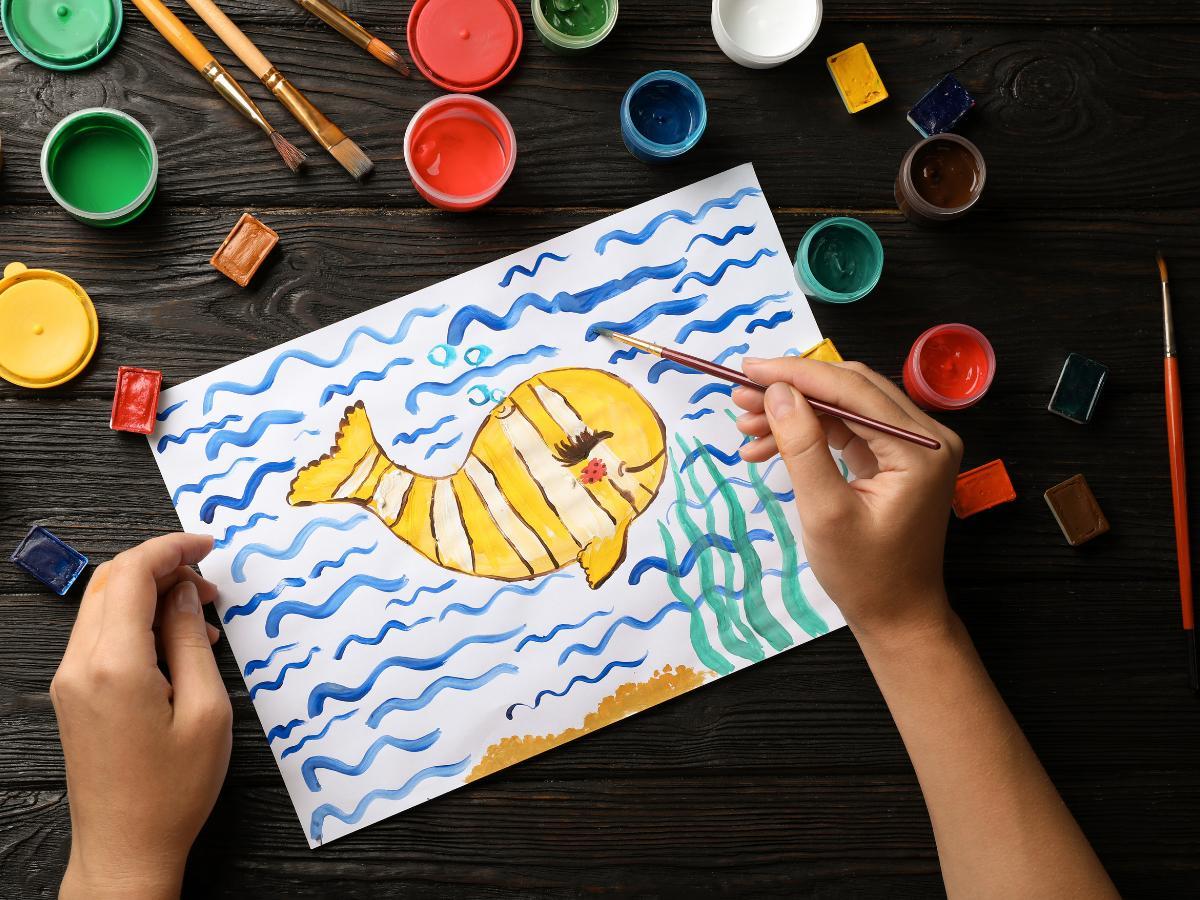 Praca plastyczna na Dzień Dziecka - ulubione zwierzę