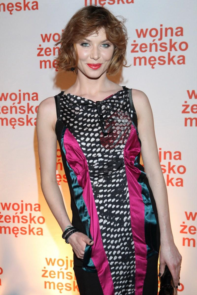 Agata Załęcka - Premiera filmu Wojna żeńsko-męska