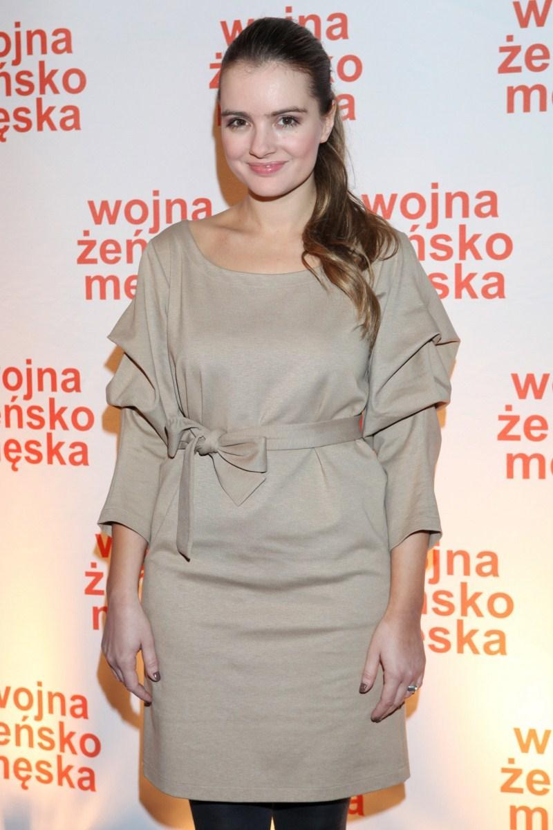 Maria Niklińska - Premiera filmu Wojna żeńsko-męska