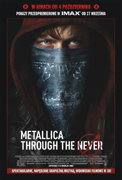 Premiery kinowe: Metallica: Through the never