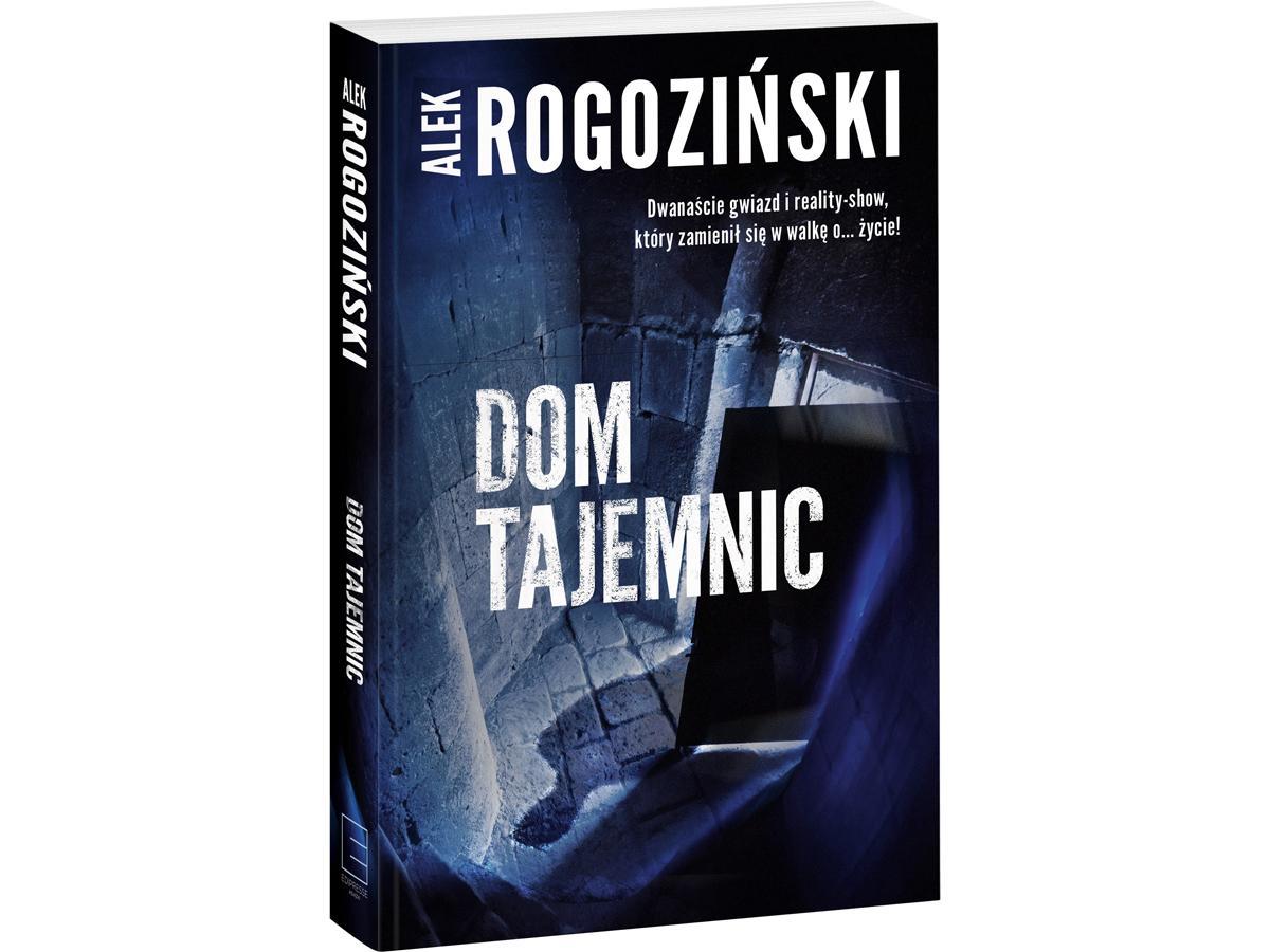 nowości książkowe wrzesień - Alek Rogoziński, Dom tajemnic