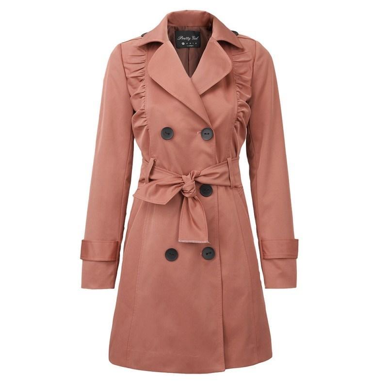 pomarańczowy płaszcz Pretty Girl - z kolekcji wiosna-lato 2011