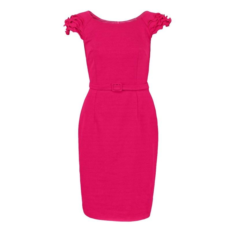 czerwona sukienka Pretty Girl - kolekcja wiosenno/letnia