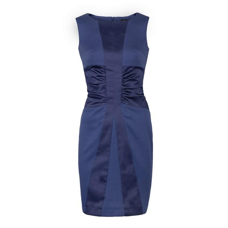 granatowa sukienka Pretty Girl ołówkowa - kolekcja wiosenno/letnia