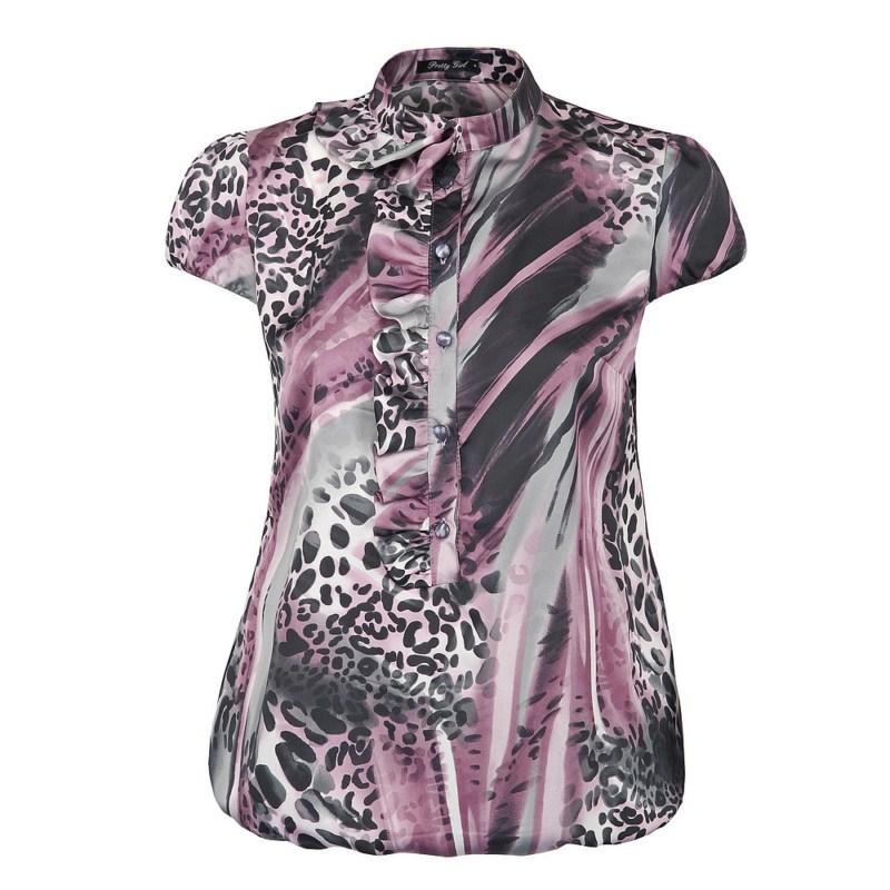 bluzka Pretty Girl w panterkę - moda 2011