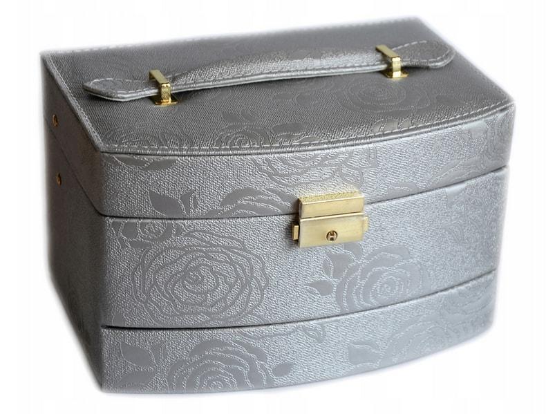 prezent na dzień matki kuferek na biżuterię