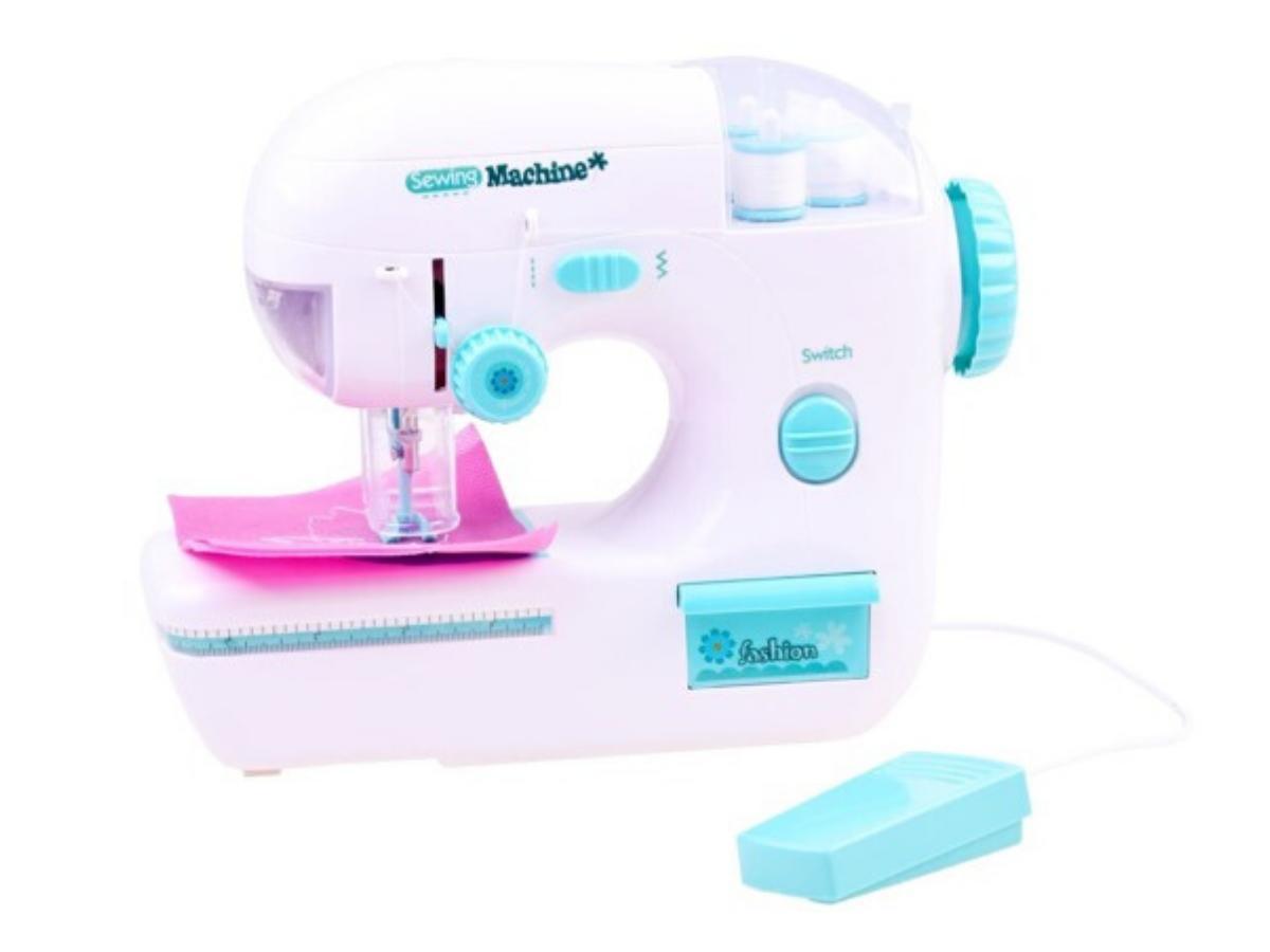 Bezpieczna maszyna do szycia dla dziecka