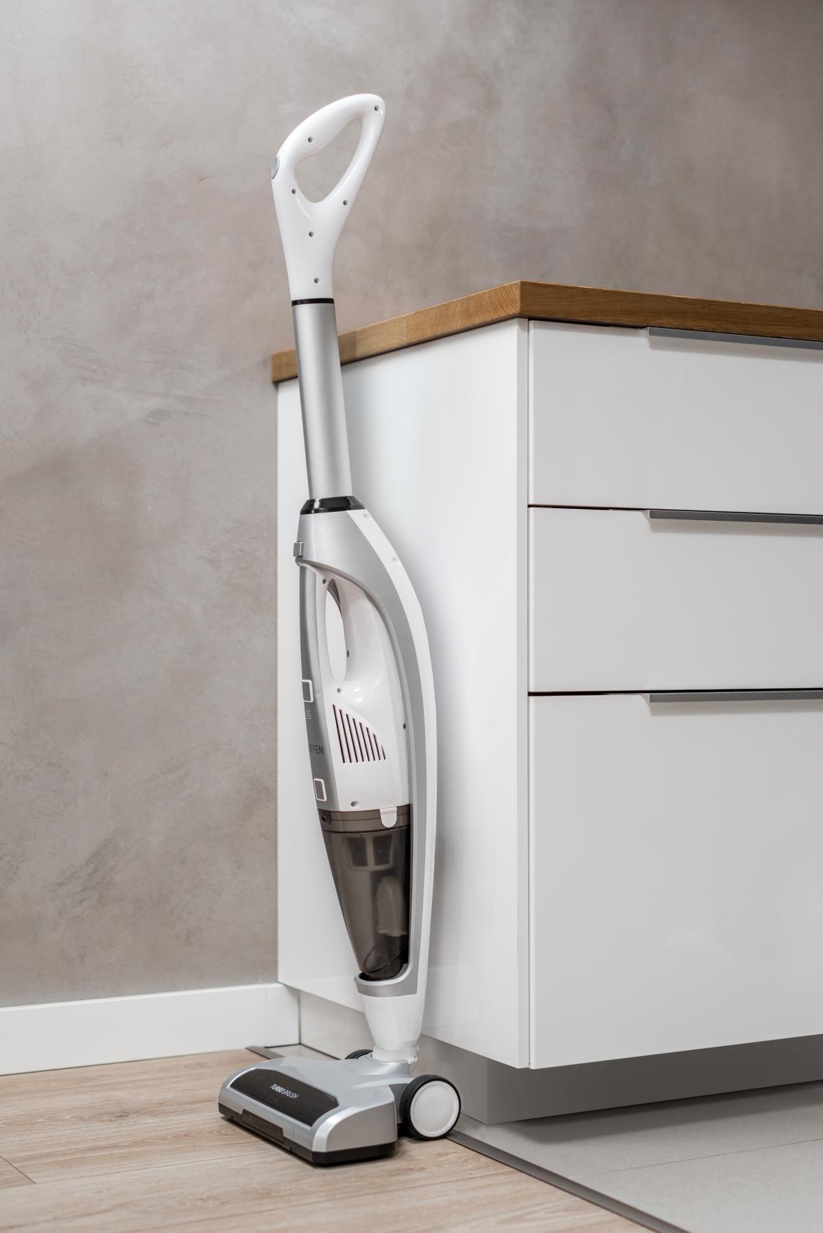 Bezprzewodowy odkurzacz myjący marki Hoffen 3 w 1 Promocja