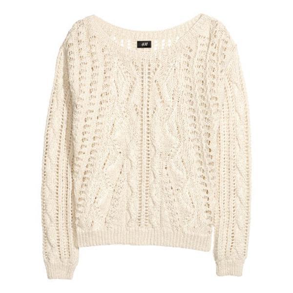Jasny sweter H&M