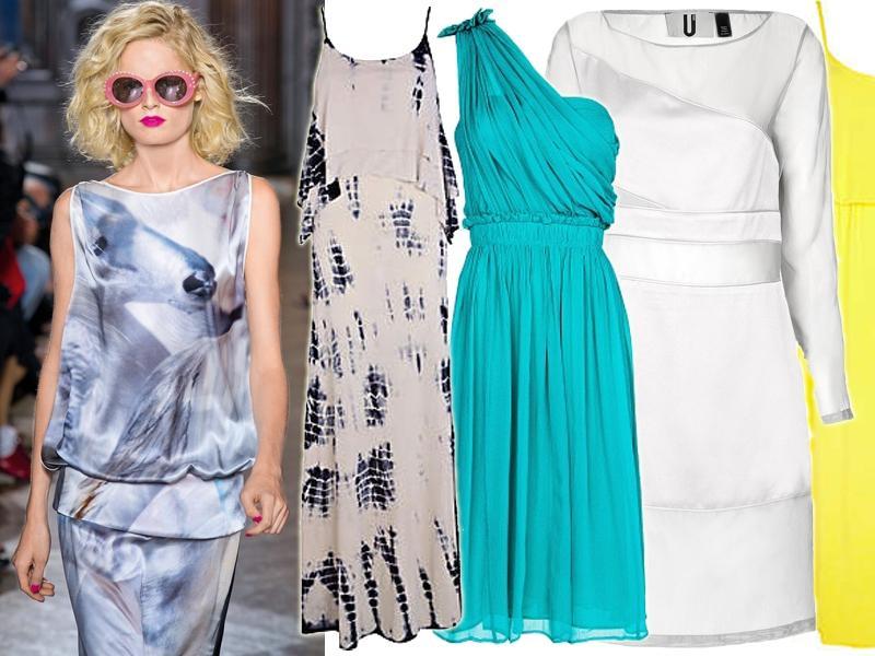 dadb9b0151 Jedwabne sukienki lato 2013 - modne sukienki lato - Trendy sezonu ...