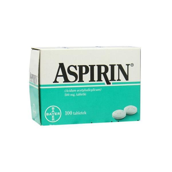Aspirin, cena: ok. 5 zł (opakowanie 10 sztuk)