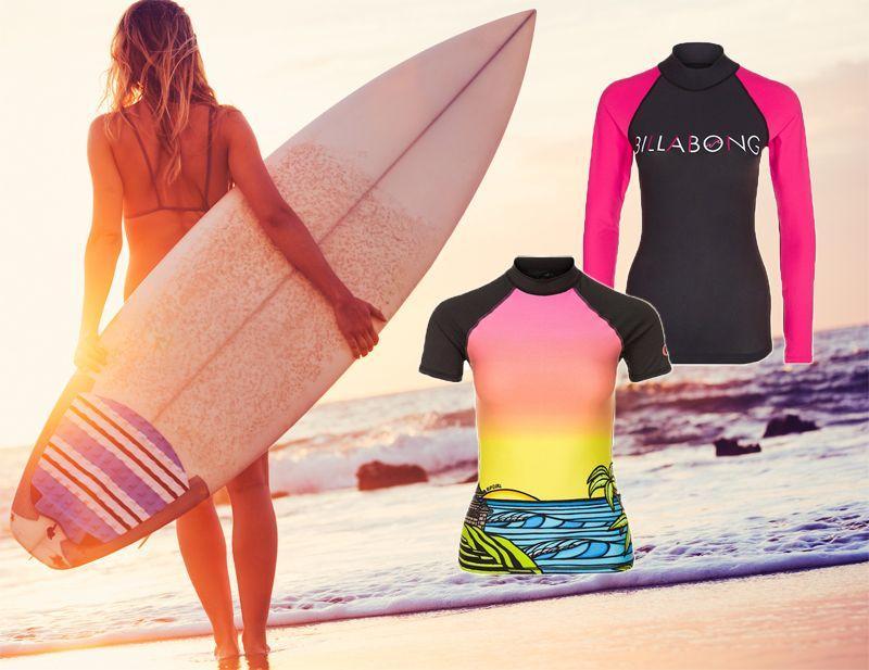08882743ac856 Koszulki do surfowania - przegląd odzieży do sportów wodnych ...