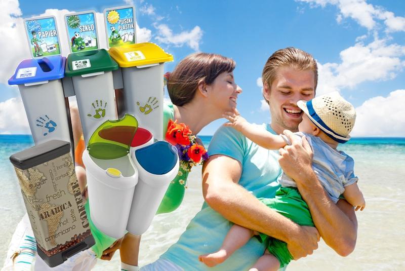 Pojemniki na śmieci do segregacji odpadów