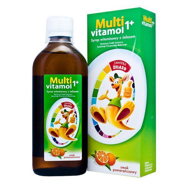 Suplementy na odporność dla dzieci - Multivitamol