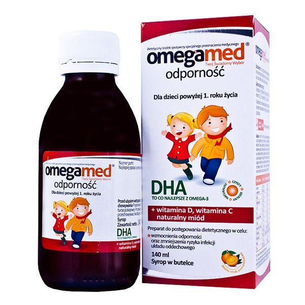 Suplementy na odporność dla dzieci - Omegamed