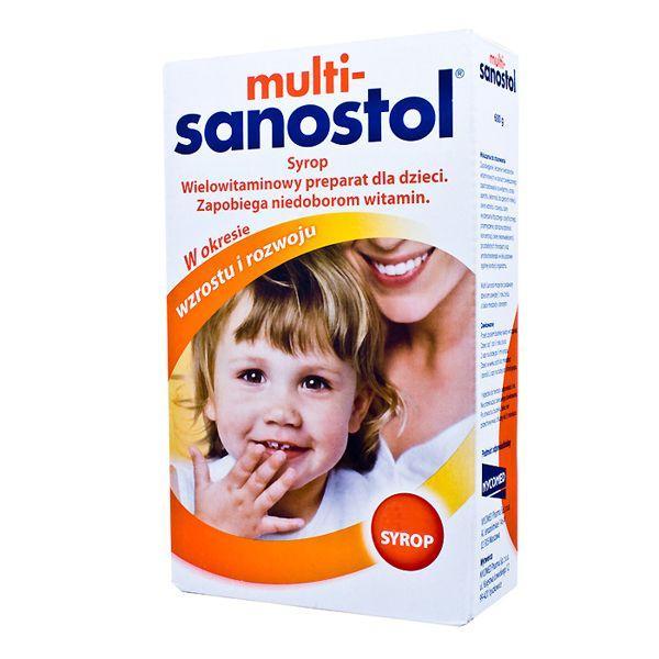 Suplementy na odporność dla dzieci - Multi Sanostol