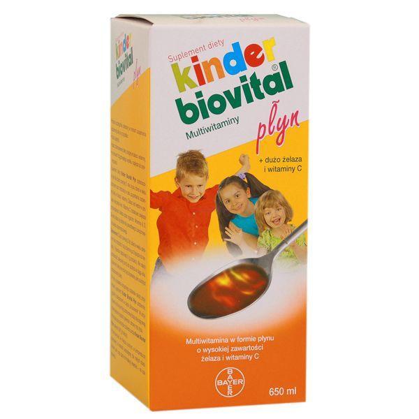 Suplementy na odporność dla dzieci - Biovital