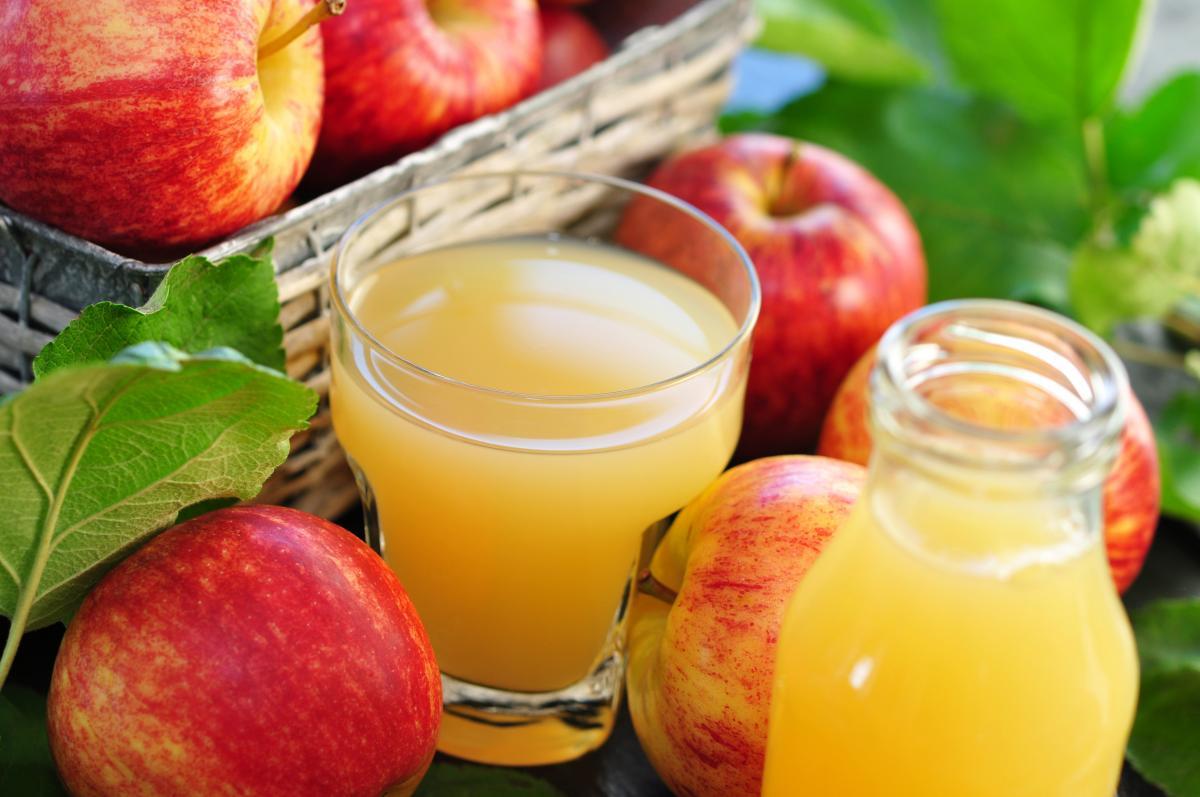 Przetwory z jabłek - sok z jabłek