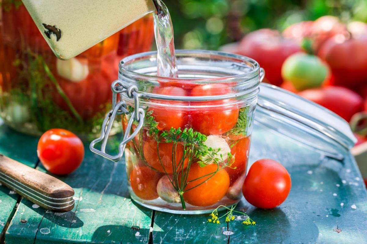 Pomidorki koktajlowe w occie