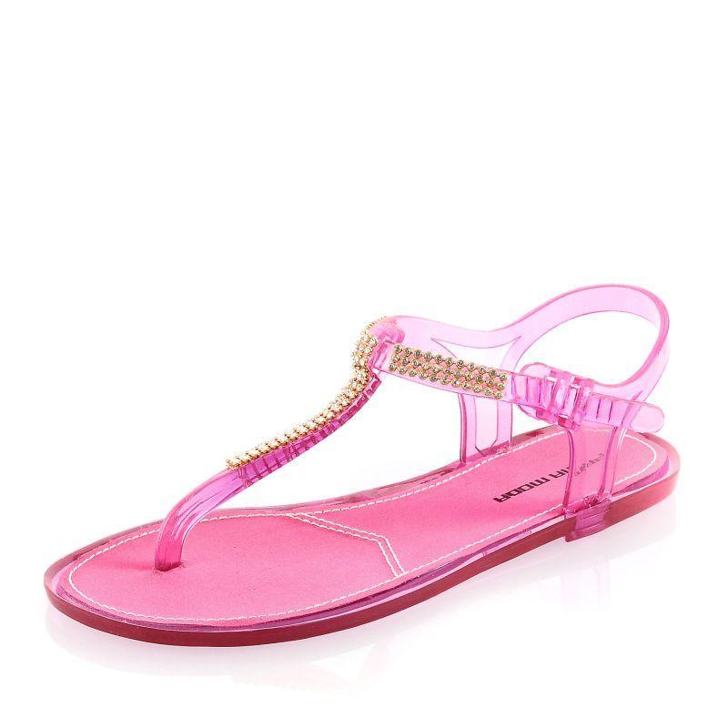 różowe sandały Prima Moda - lato 2011