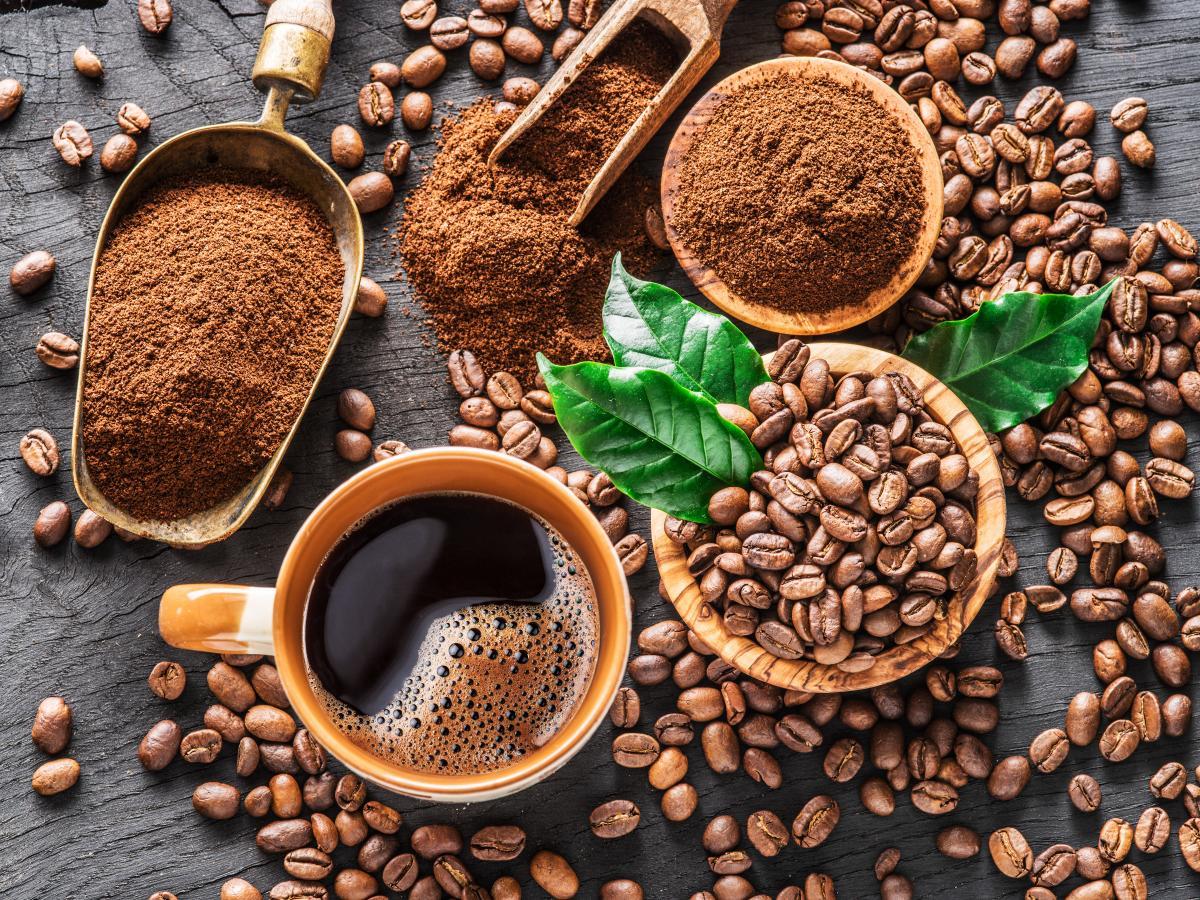 płukanka z kawy