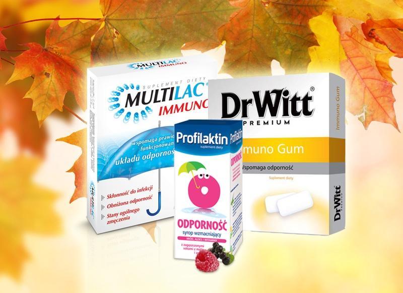 Multilac Immuno, ok. 17 zł (opakowanie 7 saszetek)