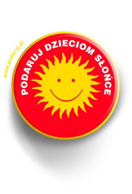 Polsat, logo, fundacja podaruj dzieciom słońce
