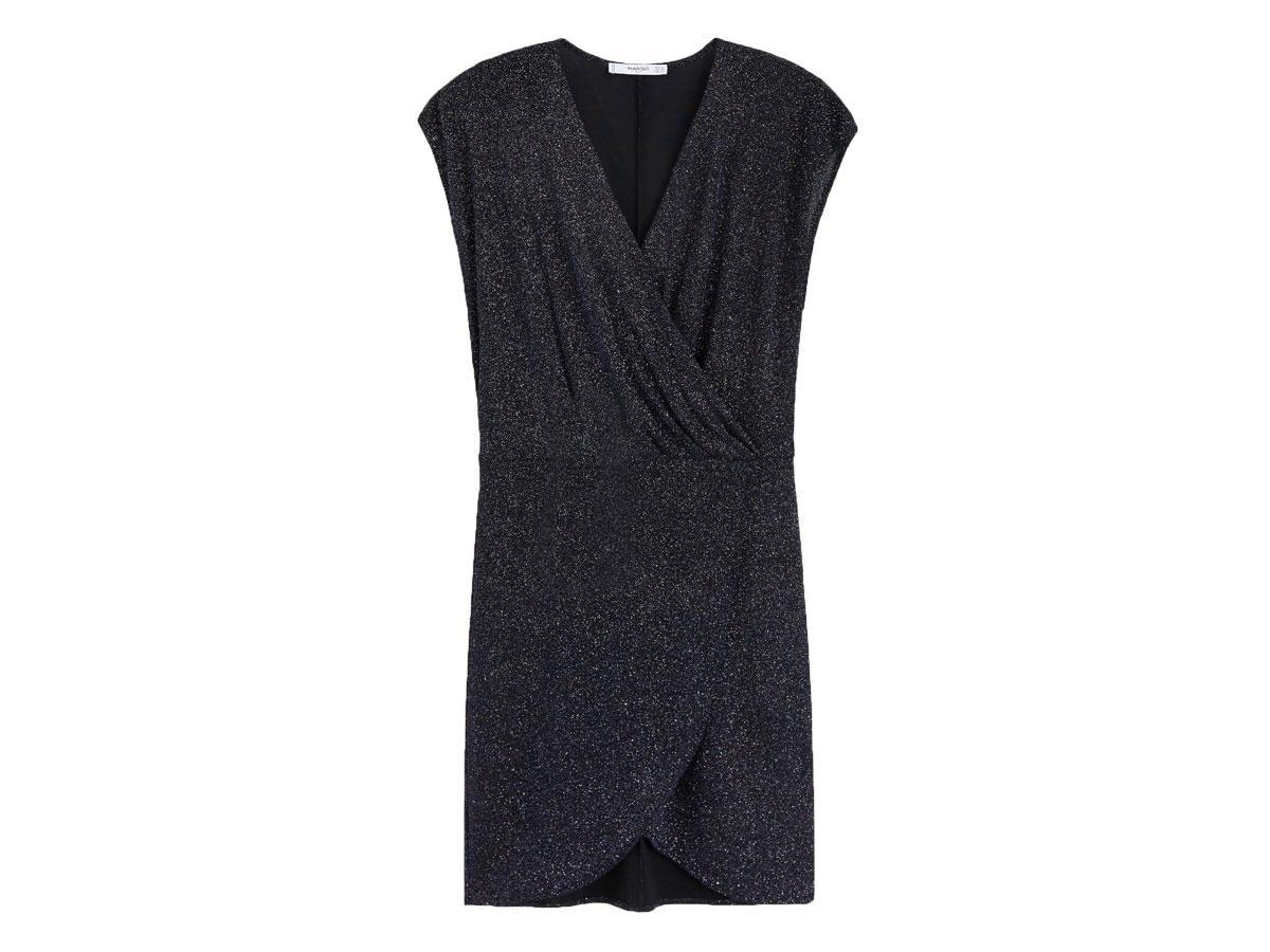 Sukienka z metaliczną nicią, Mango, cena ok. 139,90 zł