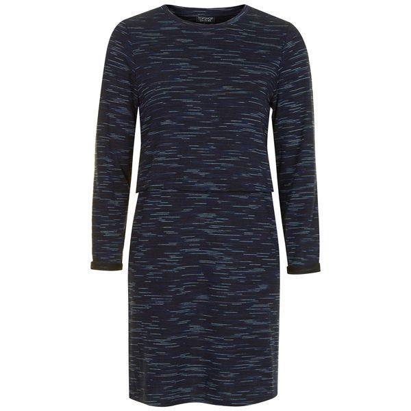 Sukienka mini z długim rękawem Topshop, cena