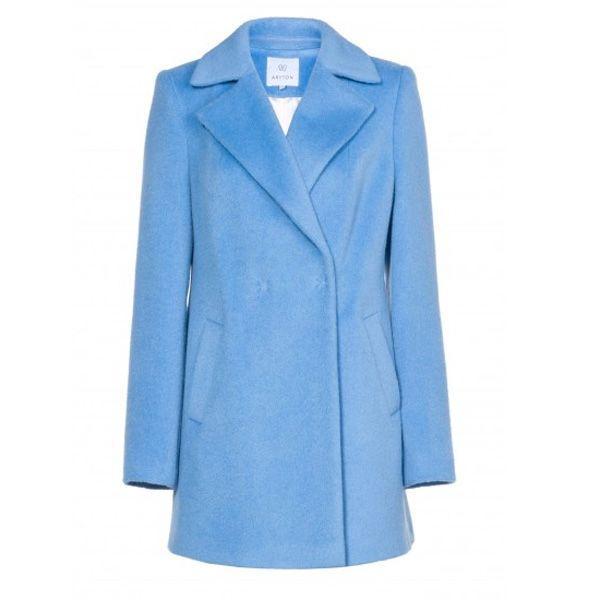 Niebieski płaszcz Aryton, cena