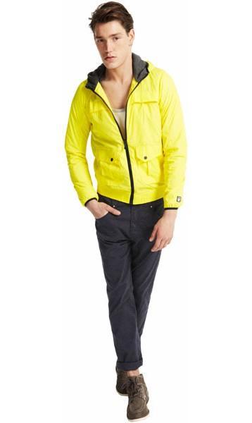 żółta kurtka Pull and Bear - wiosna 2011