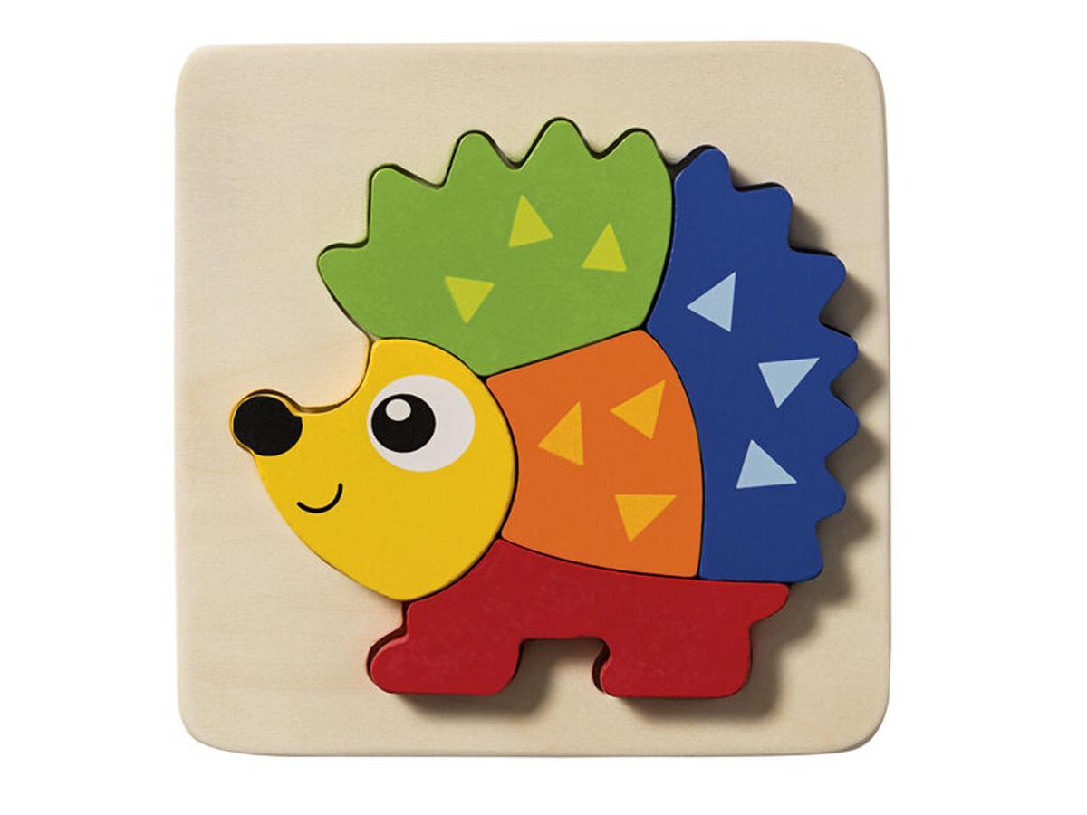 Drewniane puzzle z Lidla