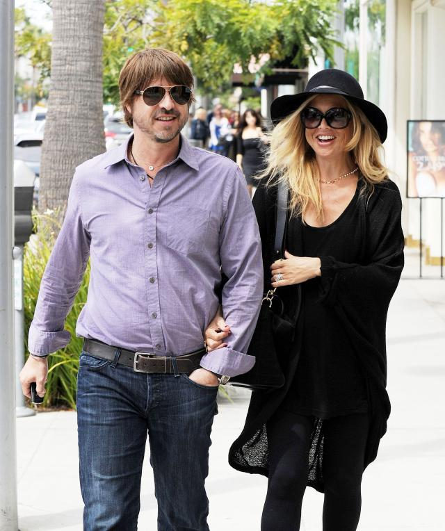 Rachel Zoe na spacerze z mężem