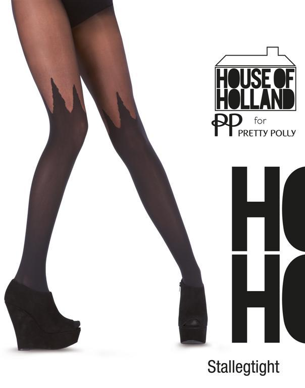 Rajstopy House of Holland dla Pretty Polly 2012/2013