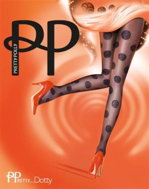 Rajstopy House of Holland dla Pretty Polly 2012/2013