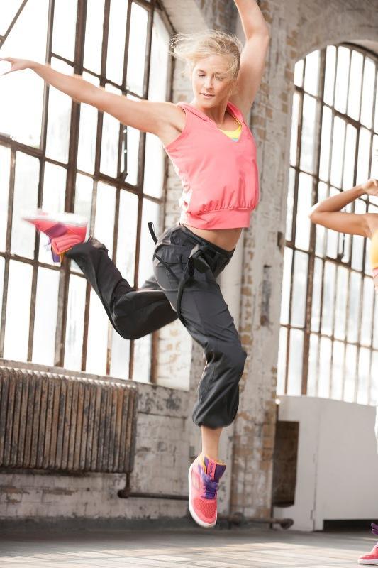 Reebok Dance - kolekcja ubrań i butów do tańca 2013