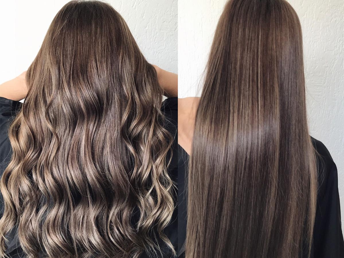 Jak zrobić refleksy na ciemnych włosach