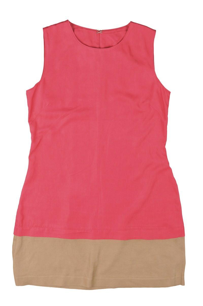różowa sukienka Reporter - sezon wiosenno-letni