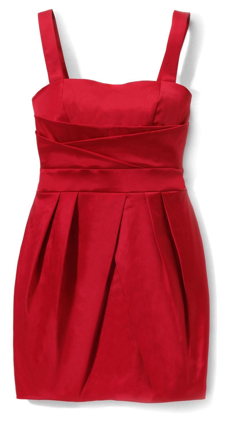 czerwona sukienka wieczorowa Reserved