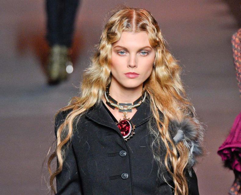 Dior, fryzura, jak z pokazu, trendy, Sylwester, retro, gwiazdka, impreza, karnawał, 2012
