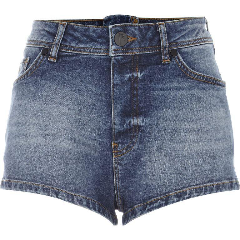 Jeansowe szorty- Rihanna dla River Island