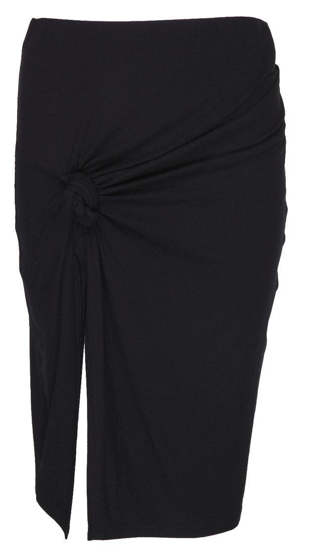 czarna spódnica River Island - moda na lato