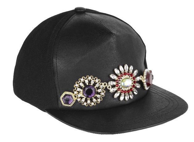 czarne czapka z daszkiem River Island - lato 2013