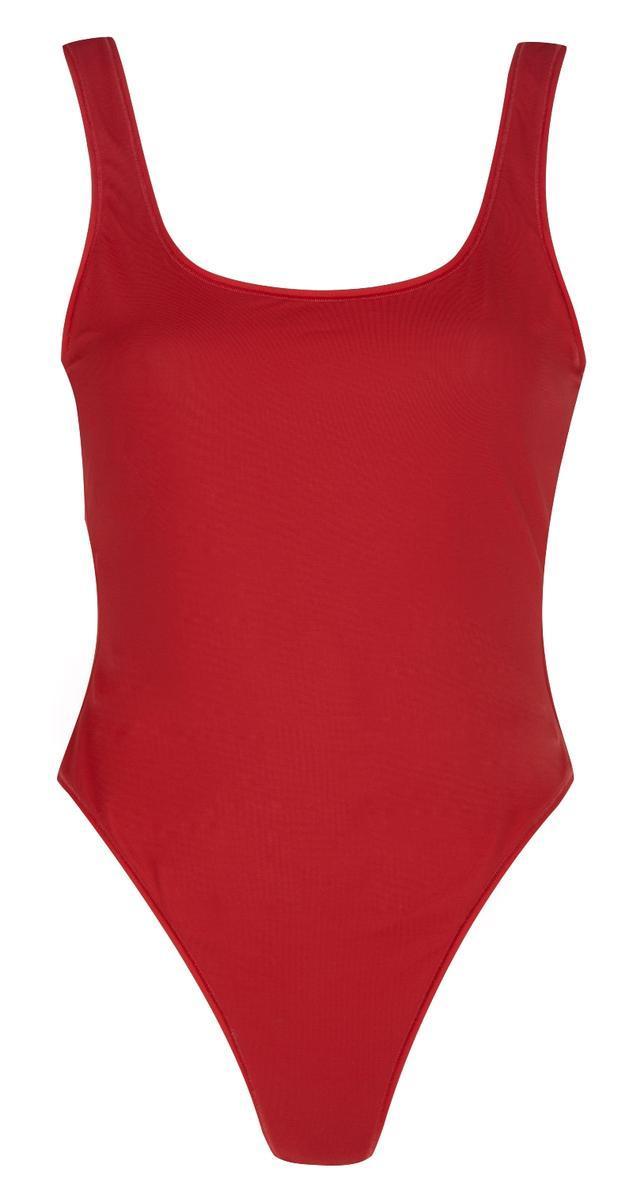 czerwone body River Island - moda na lato