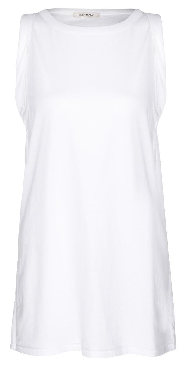 biały t-shirt River Island - lato 2013