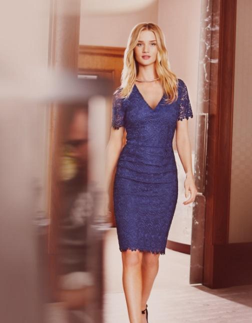 Rosie Huntington Whiteley i Rayan Reynolds - Marks&Spencer na lato 2013