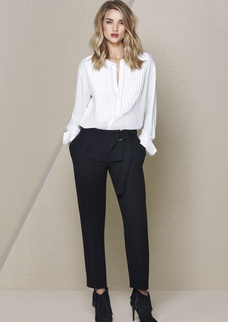 Rosie Huntington-Whiteley i ubraniowy niezbędnik kobiety