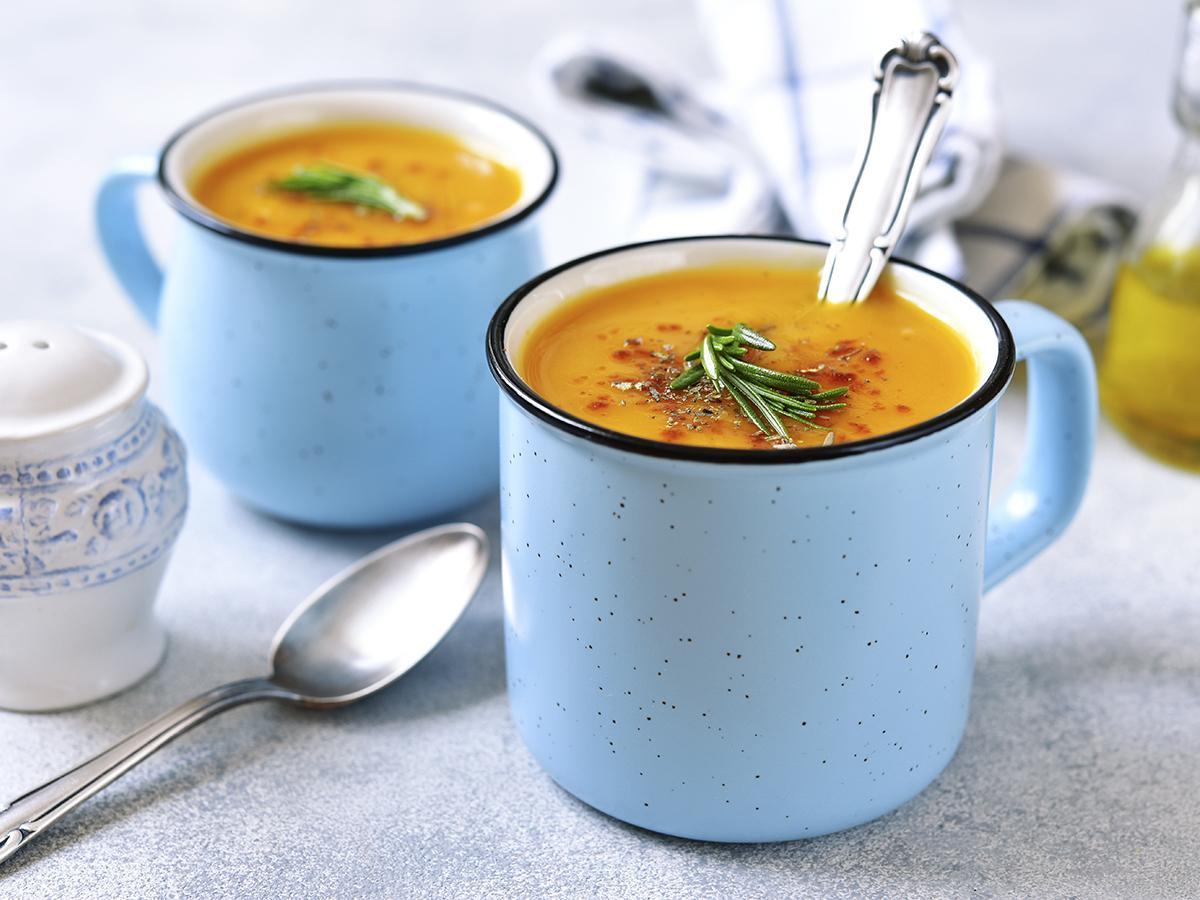 przepis na rozgrzewającą zupę batatową